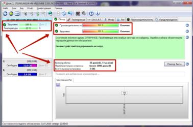 Как проверить состояние жесткого диска на ноутбуке?