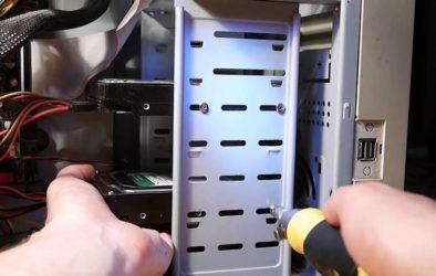 Как вынуть жесткий диск из компьютера?