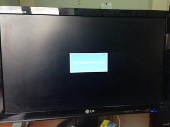 Энергосберегающий режим на мониторе и черный экран