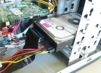 Как правильно подключить новый жесткий диск?
